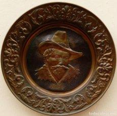 Antigüedades: COBRE ANTIGÜO DE GRAN TAMAÑO.- 59 CMS DE DIÁMETRO. APARECE LABRADO -RUBENS-. . Lote 171833613