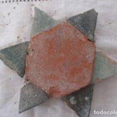 Antigüedades: AZULEJOS MUDEJARES SIGLO XVI O ANTERIORES. Lote 171964545