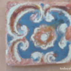 Antigüedades: AZULEJO ANTIGUO DE SEVILLA / TOLEDO. OLAMBRILLA - ARISTA - MUDEJAR - SIGLO XVI.. Lote 171989593