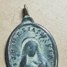 Antigüedades: ANTIGUA MEDALLA SANTA TERESA Y SAN FELIPE. Lote 171999750