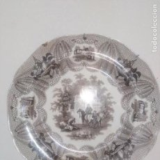 Oggetti Antichi: ANTIGUO PLATO SÍGLO XIX. Lote 171841509