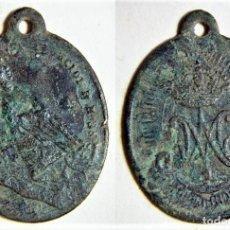 Antigüedades: MEDALLA RELIGIOSA SIGLO XIX. Lote 172011979