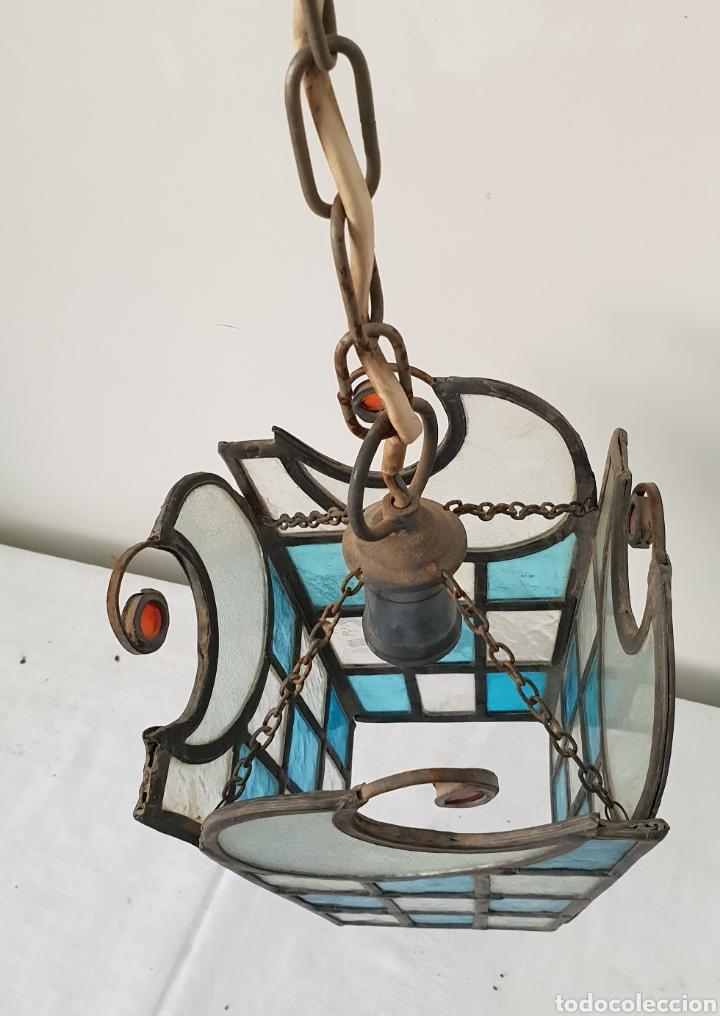 Antigüedades: Lampara de techo modernista - Foto 6 - 172046800