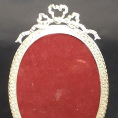 Antigüedades: MARCO DE BRONCE DORADO. OVALADO. NAPOLEÓN III. FRANCIA. SIGLO XIX - XX.. Lote 172055169
