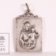 Antigüedades: ANTIGUA MEDALLA RELIGIOSA - RECUERDO DE SAN JOSÉ DE LA MONTAÑA - MEDIDAS 20 X 28 MM. Lote 172058635
