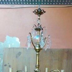 Antigüedades: LAMPARA DE TECHO-. Lote 172048414