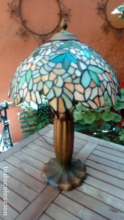 LAMPARA MODELO WISTERIA - (Antigüedades - Iluminación - Lámparas Antiguas)