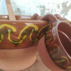 Antigüedades: JUEGO DE CUERVERA 8 PIEZAS. Lote 172065957