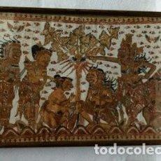 Antigüedades: ANTUGUO TAPIZ AZTECA . Lote 172074225