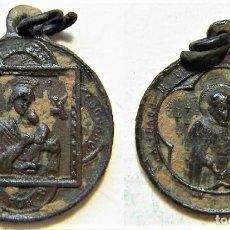 Antigüedades: MEDALLA RELIGIOSA SIGLO XIX. Lote 172103542