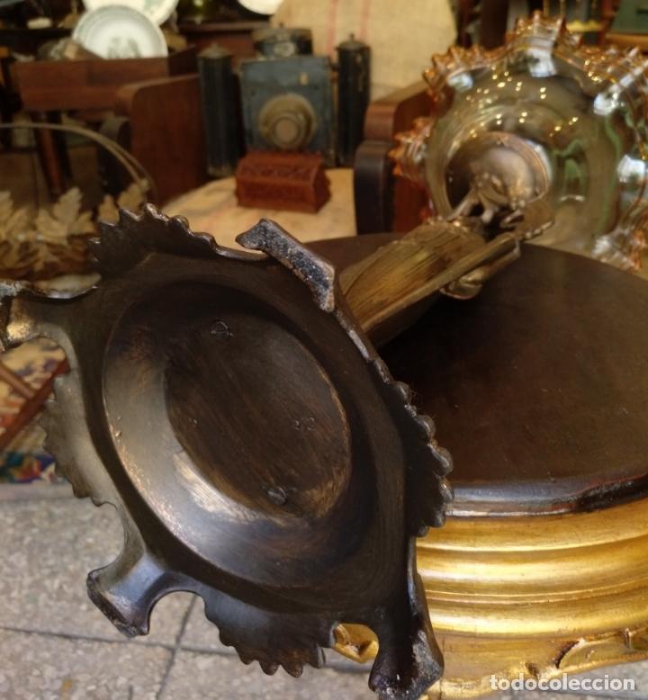 Antigüedades: GRANDE Y ANTIGUO CENTRO ESCULTURA MODERNISTA , GRAN DECORACION - Foto 21 - 172109420