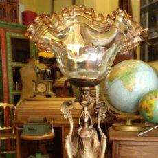 Antigüedades: GRANDE Y ANTIGUO CENTRO ESCULTURA MODERNISTA , GRAN DECORACION . Lote 172109420