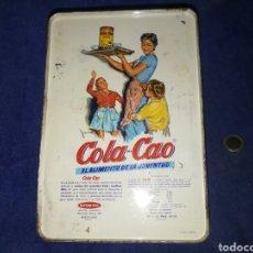 Antigüedades: CAJA COLACAO BOTONES. Lote 172112825