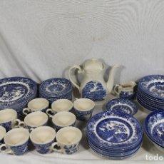 Antigüedades: VAJILLA DE PORCELANA INGLESA, MARCA ENGLAND EIT . Lote 172128558