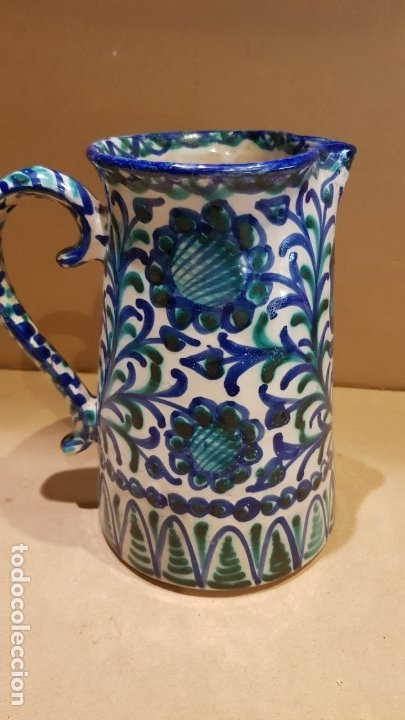 Antigüedades: CURIOSA JARRA DE CERÁMICA DE FAJALAUZA / MARCA INTERIOR / CERÁMICA ARABE / GRANADA / 22 X 19 CM. - Foto 5 - 172142809