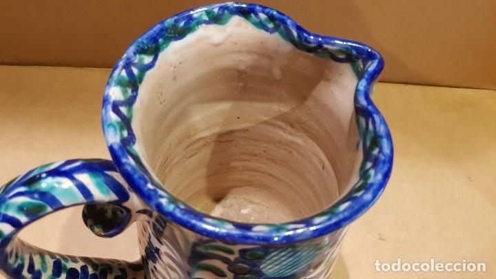 Antigüedades: CURIOSA JARRA DE CERÁMICA DE FAJALAUZA / MARCA INTERIOR / CERÁMICA ARABE / GRANADA / 22 X 19 CM. - Foto 6 - 172142809