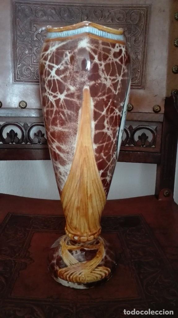 Antigüedades: Jarrón Art Nouveau siglo 19 - Foto 2 - 172156337
