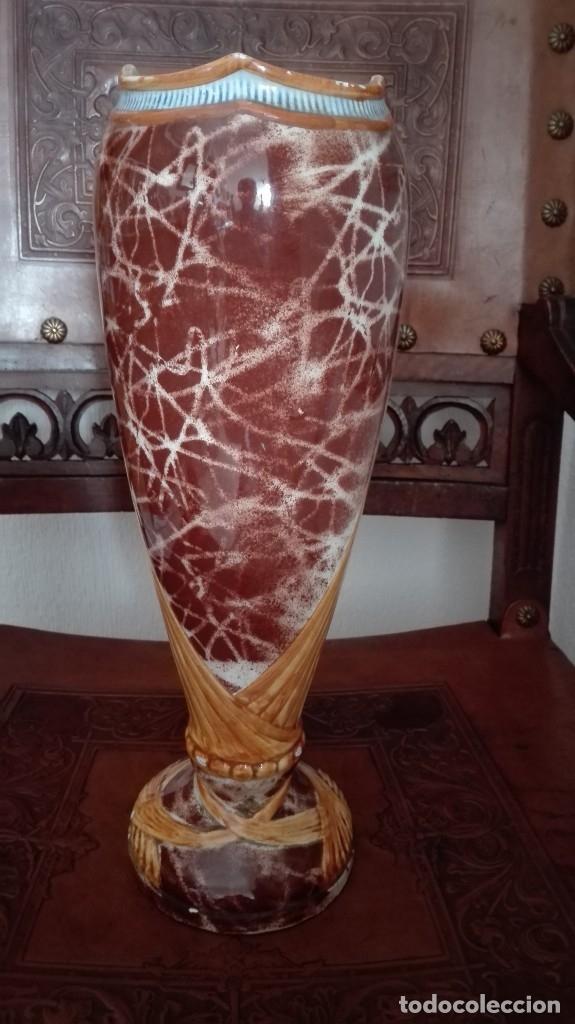Antigüedades: Jarrón Art Nouveau siglo 19 - Foto 3 - 172156337