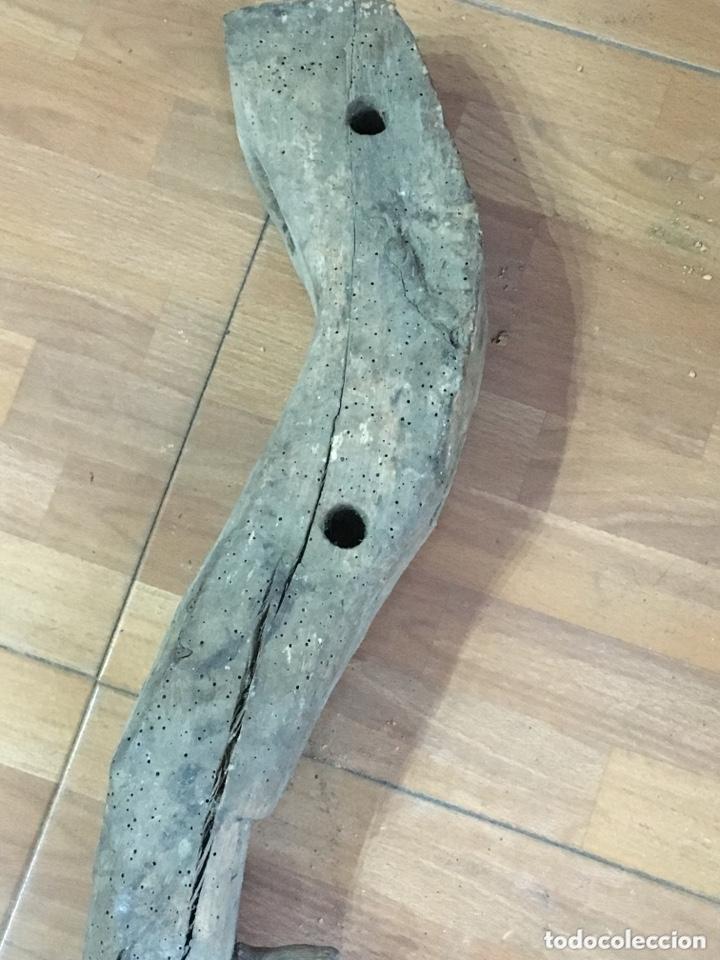 Antigüedades: ANTIGUO YUGO DE MADERA - Foto 8 - 172175518