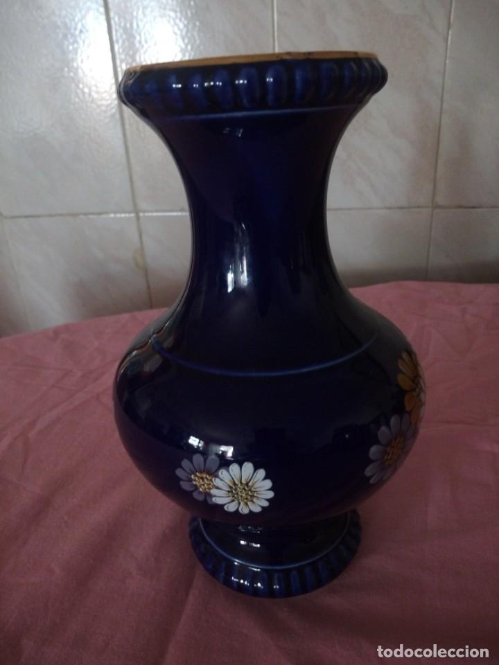 Antigüedades: Antiguo jarron de porcelana azul cobalto, bareuther waldsassen bavaria germany.echt cobalt - Foto 4 - 172183252