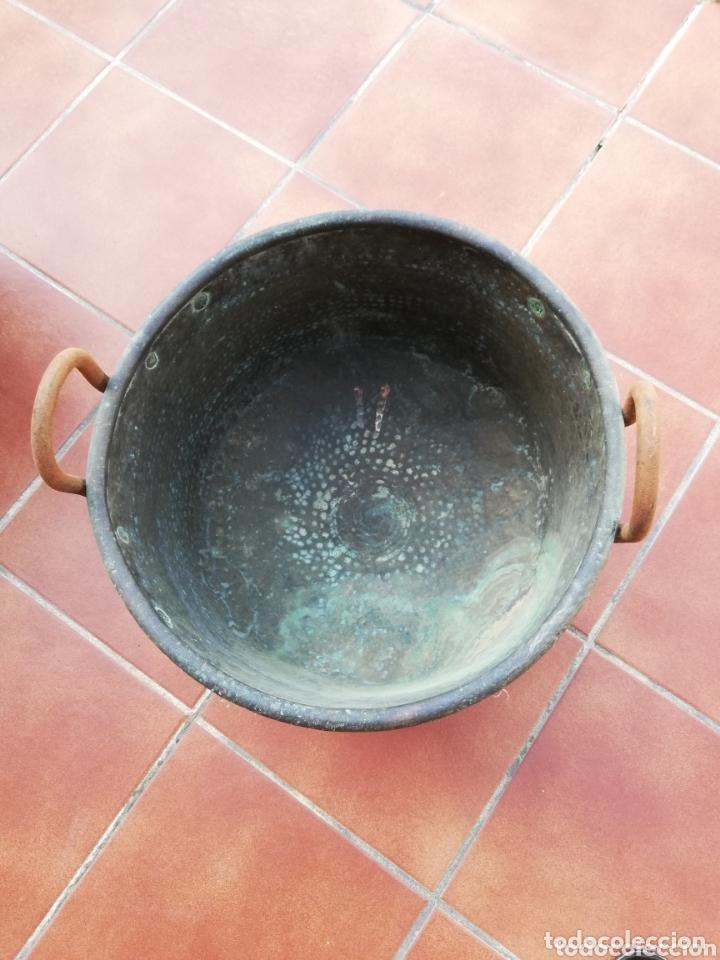 Antigüedades: Caldero cobre - Foto 7 - 134799009