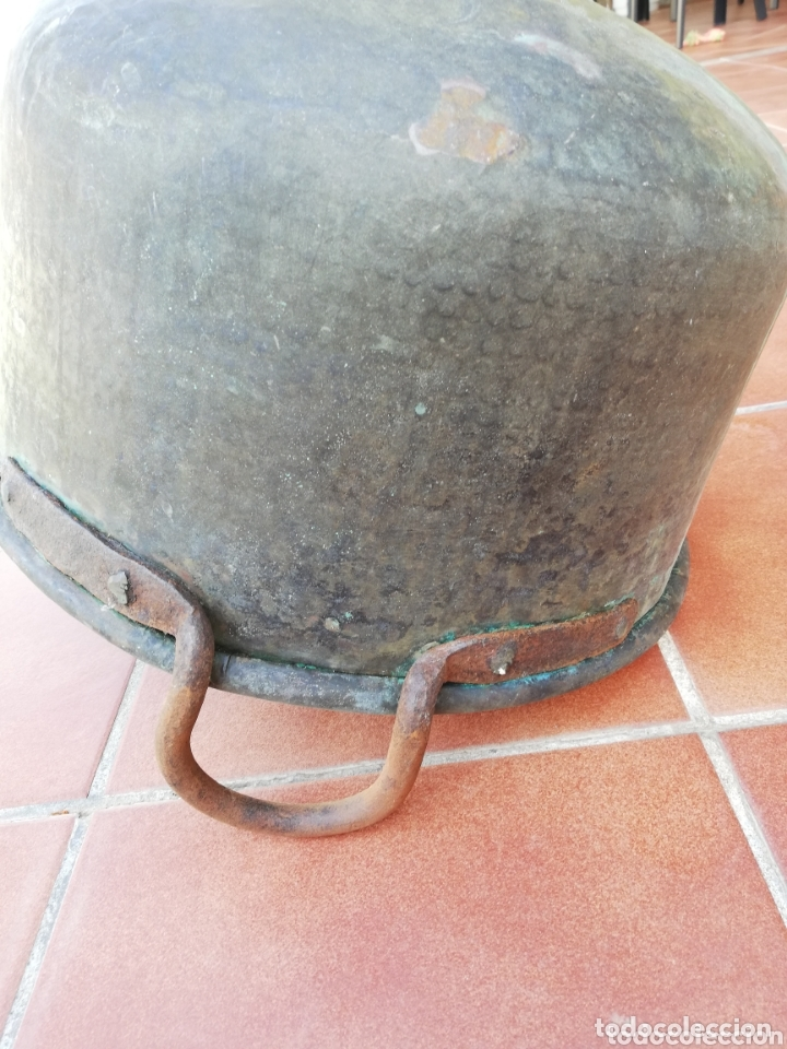 Antigüedades: Caldero cobre - Foto 13 - 134799009