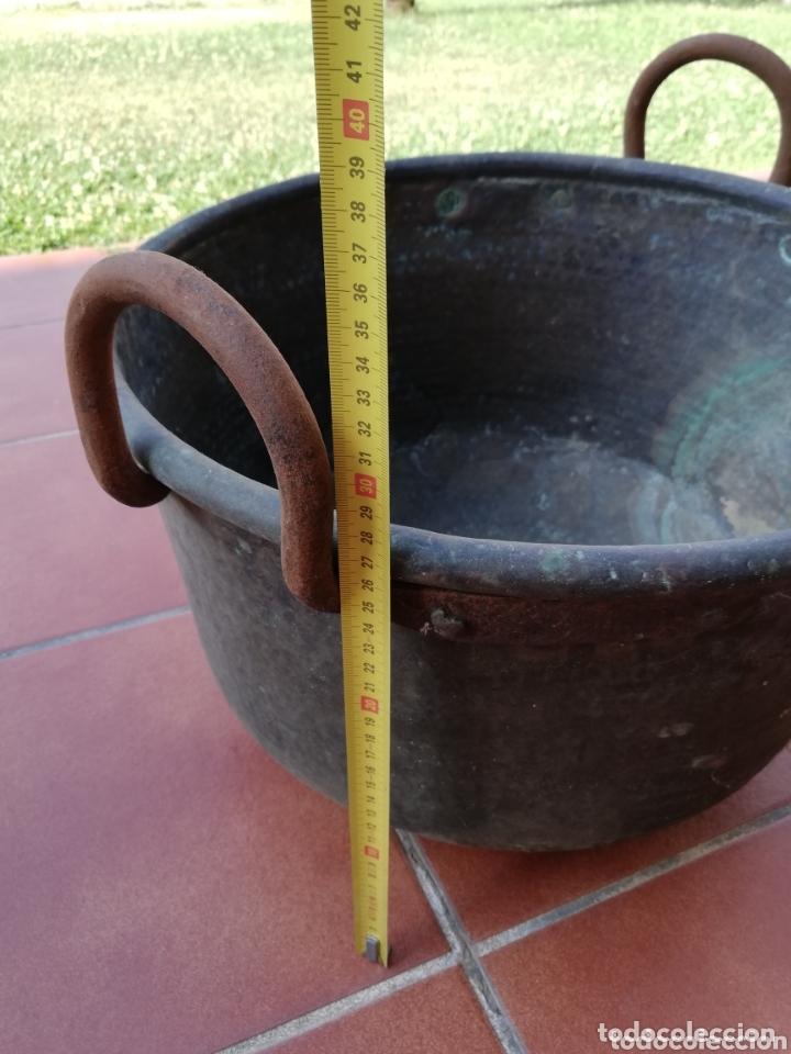 Antigüedades: Caldero cobre - Foto 14 - 134799009