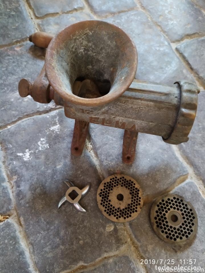 Antigüedades: Picadora de carne - Foto 3 - 172213840