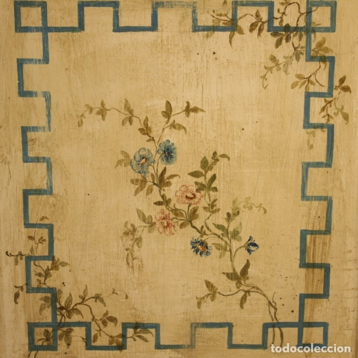 Antigüedades: Cómoda italiana de estilo Luis XVI en madera lacada y pintada - Foto 9 - 172223524