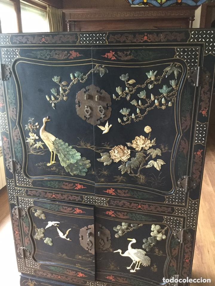 Antigüedades: Mueble chino de salón - Foto 3 - 172226875