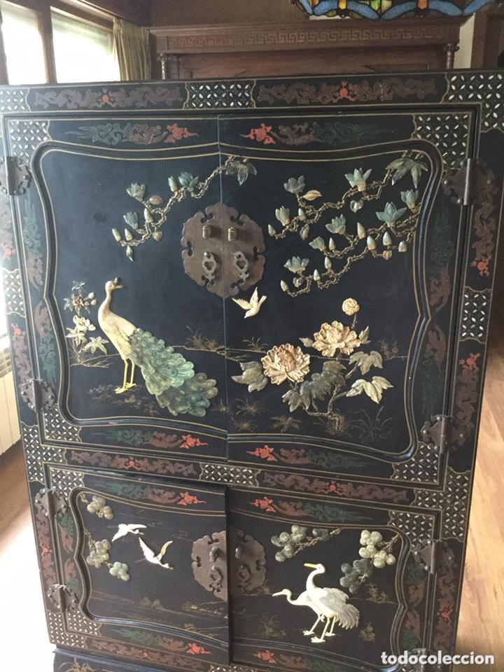 Antigüedades: Mueble chino de salón - Foto 4 - 172226875