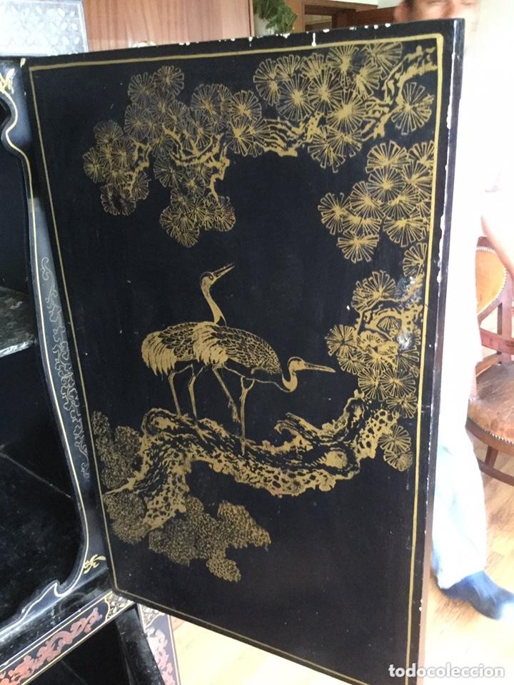 Antigüedades: Mueble chino de salón - Foto 9 - 172226875