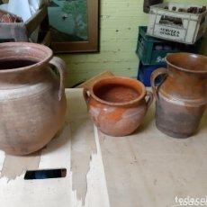 Antigüedades: PIEZA EN BARRO ANTIGUA POPULARES GALLEGA ANTIGÜEDADES COLISEVM ETNOGRAFÍA GALLEGA VER MIS LOTES. Lote 172233343