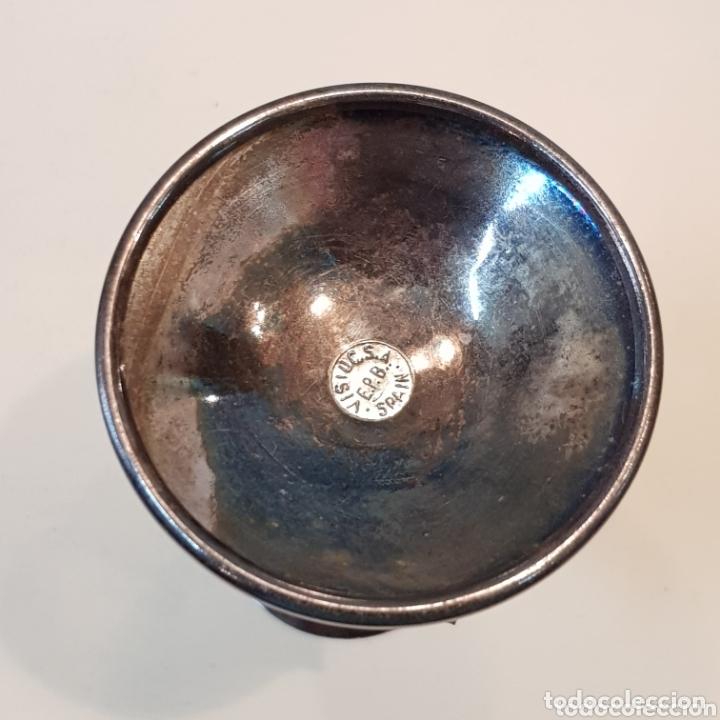 Antigüedades: PRECIOSO CANDELABRO EN ALPACA - Foto 6 - 172297200