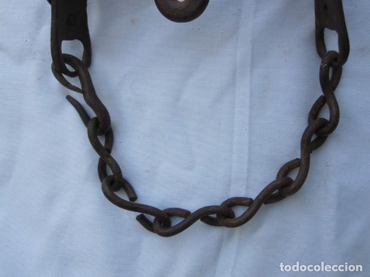 Antigüedades: ANTIGUO BOCADO DE FORJA DEL XVIII - Foto 4 - 172297215