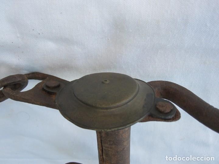Antigüedades: ANTIGUO BOCADO DE FORJA DEL XVIII - Foto 5 - 172297215