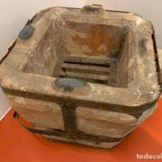 Antigüedades: EXTRAORDINARIO HORNILLO O FOGON ANTIGUO COMPLETO. EXCELENTE ESTADO. IDEAL DECORACION O USO.. Lote 172299477
