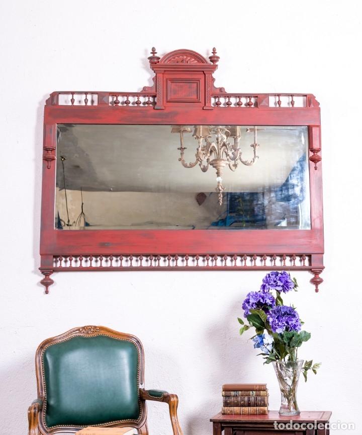 ESPEJO ANTIGUO RESTAURADO EUGENE (Antigüedades - Muebles Antiguos - Espejos Antiguos)