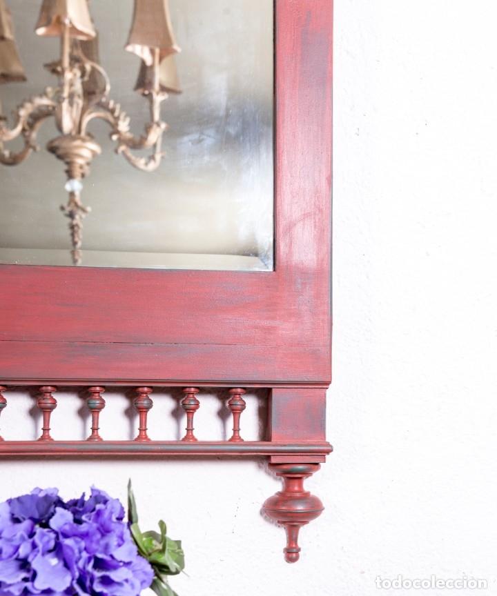 Antigüedades: Espejo Antiguo Restaurado Eugene - Foto 3 - 172303139
