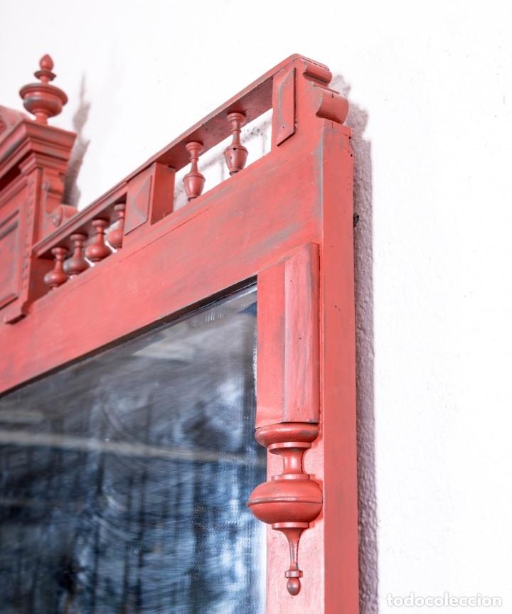 Antigüedades: Espejo Antiguo Restaurado Eugene - Foto 4 - 172303139