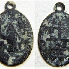 Antigüedades: MEDALLA RELIGIOSA SIGLO XIX. Lote 172303590