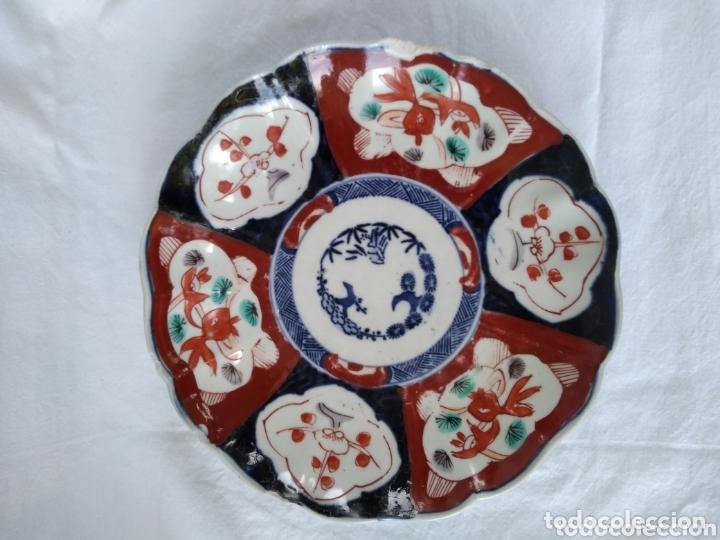 PLATO PORCELANA JAPONESA IMARI (Antigüedades - Porcelana y Cerámica - Japón)