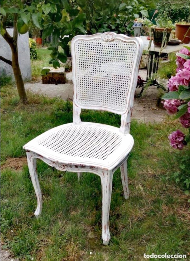 Antigüedades: Conjunto de sillas estilo Luis XV - Foto 2 - 172342979