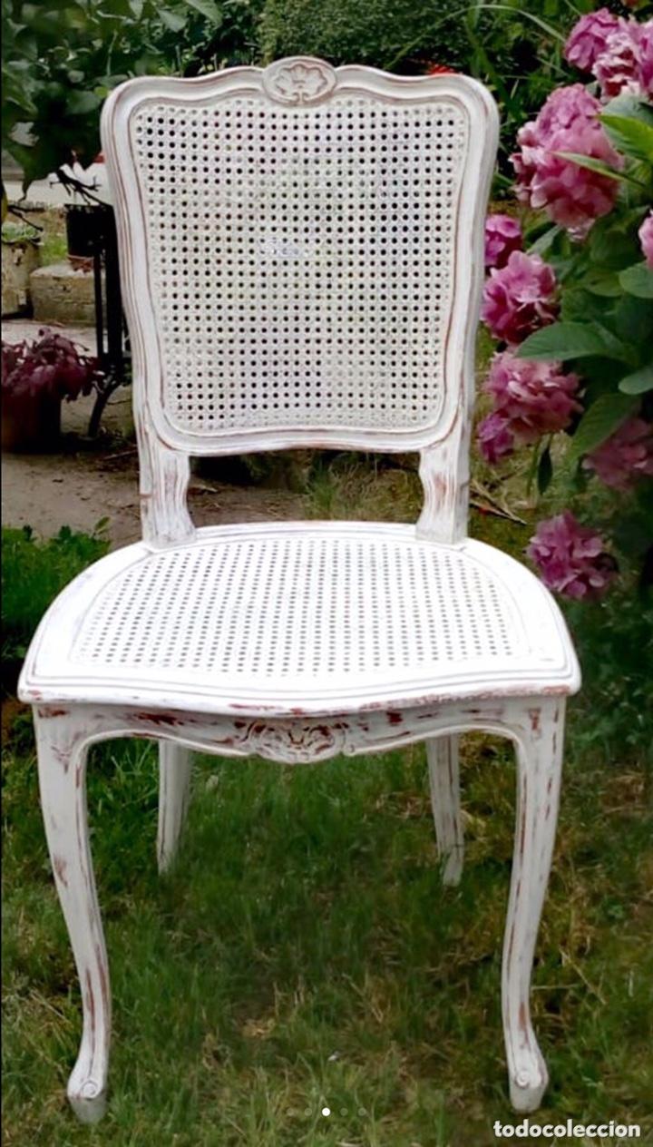 Antigüedades: Conjunto de sillas estilo Luis XV - Foto 3 - 172342979
