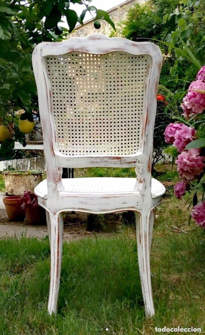Antigüedades: Conjunto de sillas estilo Luis XV - Foto 4 - 172342979