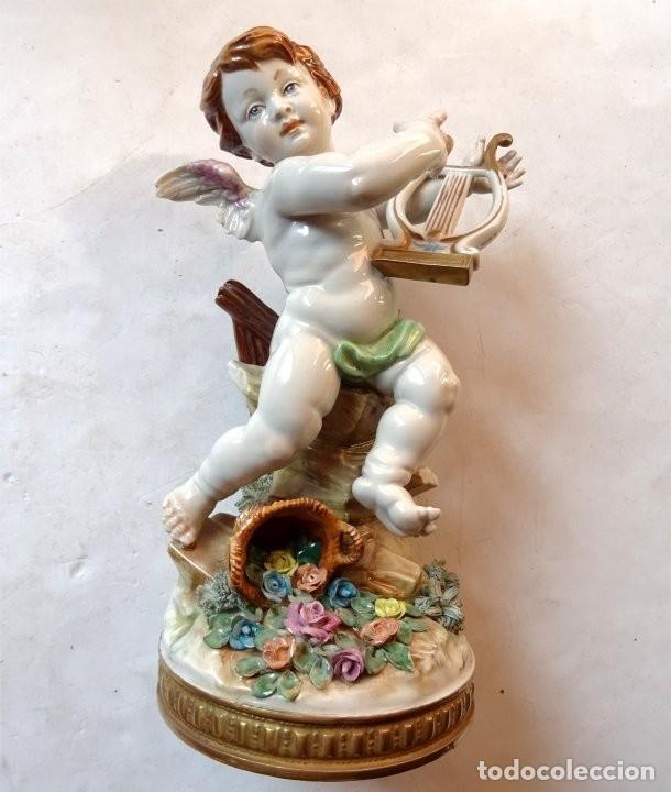 PORCELANA – ALGORA – ANGEL ESTACIONES – VERANO (Antigüedades - Porcelanas y Cerámicas - Algora)