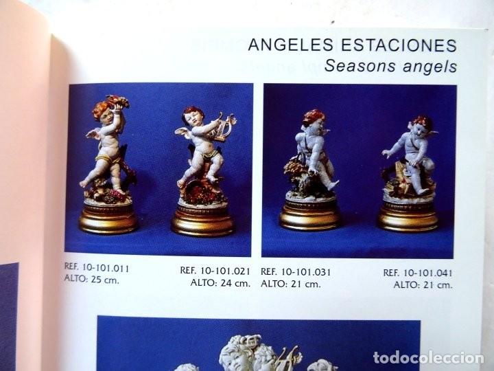 Antigüedades: PORCELANA – ALGORA – ANGEL ESTACIONES – VERANO - Foto 15 - 172353903