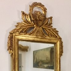 Antigüedades: MADERA-DORADO PAN DE ORO-EPOCA IMPERIO NAPOLEÓN III C.1880-90. Lote 172354028