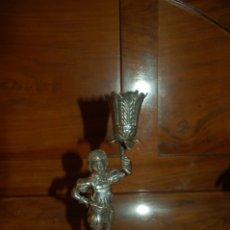 Antigüedades: PALILLERO DE PLATA PORTUGUES. Lote 172358074