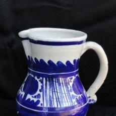 Antigüedades: BONITA JARRA DE PORCELANA DE MANISES.. Lote 172367844